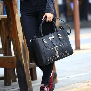 NS7737SN Black, Khaki - Tas Kantor, Tas Pesta - Hand Bag, Tas Selempang - Tas Wanita Murah - Tas Import
