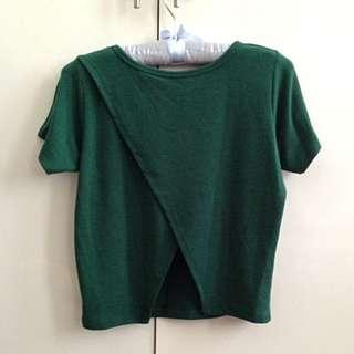 Green Xmas Blouse