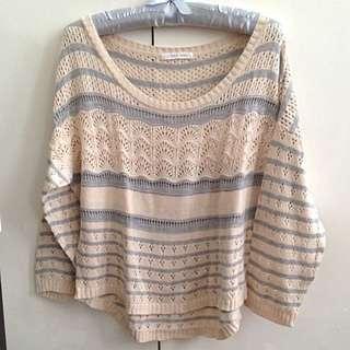 LOWRYS FARM Crochet Sweater