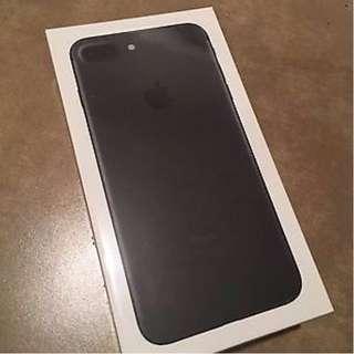 New Apple iphone 7 Plus 256GB Unlocked in Box