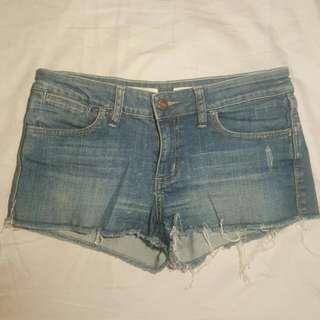 Wrangler Denim Shorts Size 10