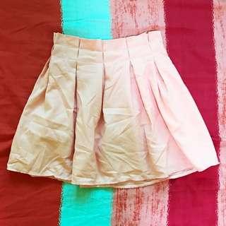 Salmon Pink Skirt