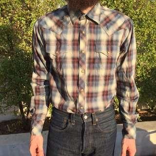 Wrangler Retro Western Shirt Medium