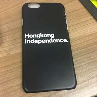 <hong Kong Independence >黑色iPhone 6/6s 機殻(樣版)