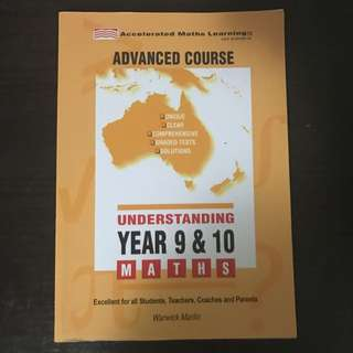 Advanced Course Understanding Year 9 & 10 Maths