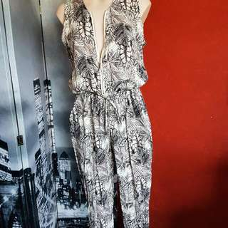 POLY /Cotton Sleeveless Jumpsuit ...BNWT