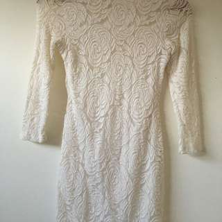 Small White Lace Dress