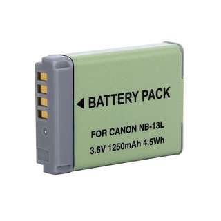 Canon NB-13L Battery (For G5X, G7X, G7X II, G9X)