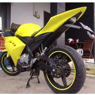 Yamaha Vixion 2014 Tampilan Ninja Warrior 250cc Murah