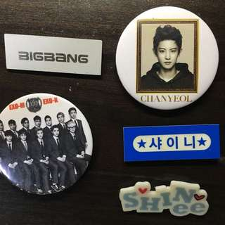 Kpop Badges and Name Tags