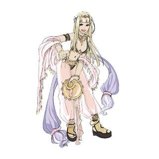 Ragnarok Online Dancer Cosplay Costume / Belly Dancing