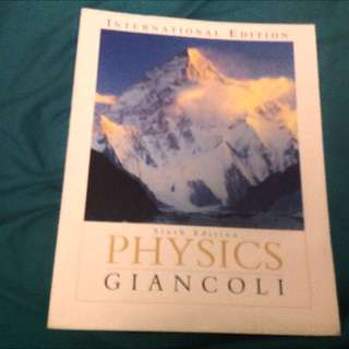 Physics Sixth Edition International Edition