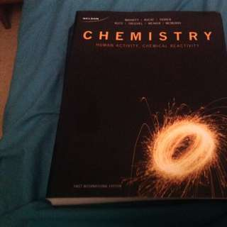 Chemistry First International Edition