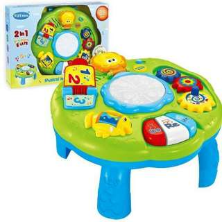 TOTS KIDS 2 IN 1 MUSICAL LEARNING TABLE