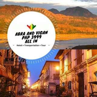 Abra + Vigan Tour