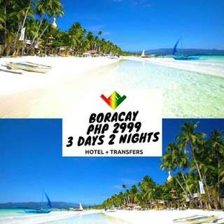 Boracay Package (Airfare not included) Minimum of 2 Pax