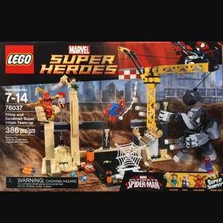 Lego 76037 Rhino and Sandman Super Villain Team-up