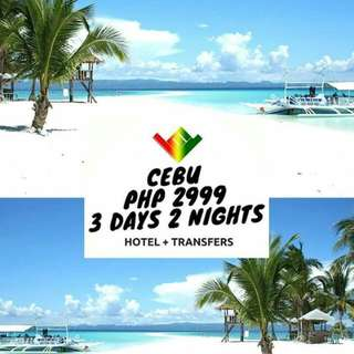 Cebu Package ( Airfare not included) Minimum of 2 Pax
