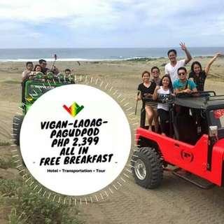 Vigan + Laoag + Pagudpod (Ilocos Tour)