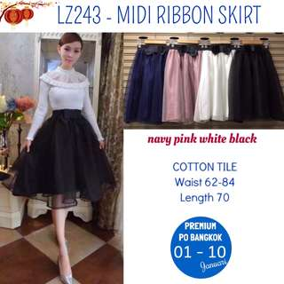 ribbon tutu skirt