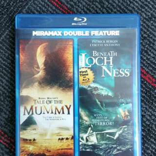 Blu Ray Double Feature - Tale Of The Mummy & Beneath Loch Ness