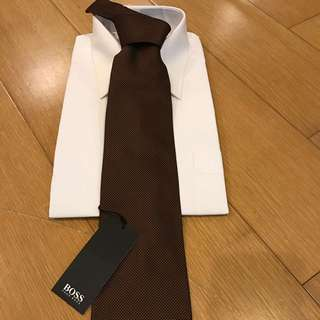 全新Hugo Boss領帶