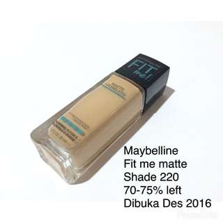 Fit Me Matte Poreless