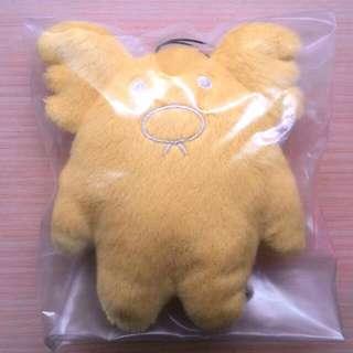 🚚 日本 宇宙人黃無尾熊寶貝吊飾