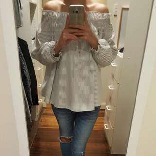 Korean Off Shoulder Top