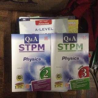 STPM Physics Books