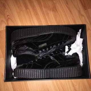 Fenty/Puma Black Creepers Size 8.5