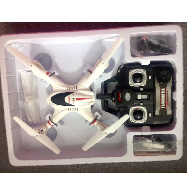 2.4G 6-Axis Fpv Real Time X-Series Box White Rc Quadcopter Drone