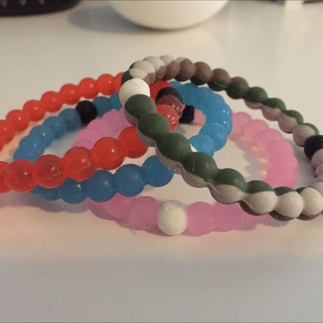 4x Original Lokai Bracelets
