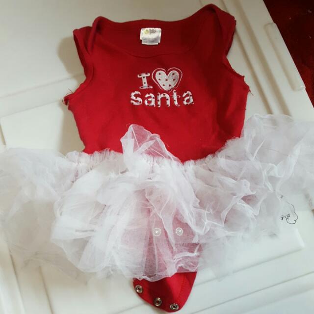 6 - 8 Month Santa Outfi5