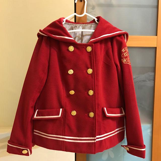 日系海軍風外套