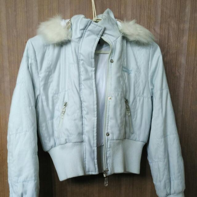 外套 淺藍色