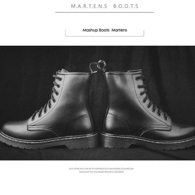 百搭馬丁靴 舒適好穿有型**黑色版百搭馬丁靴