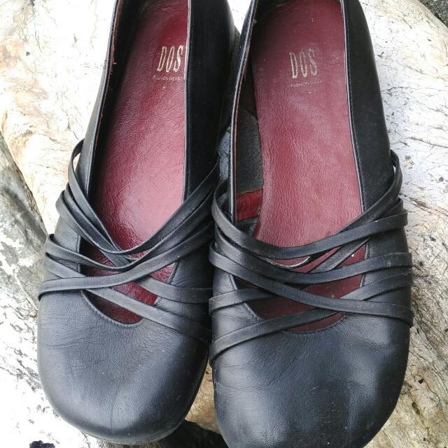 黑色 娃娃鞋 35號