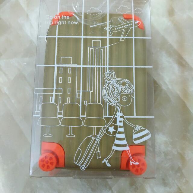 行李箱造型零錢包  零錢包 皮包 化妝包