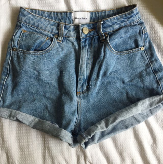 Abrand Jeans High Relaxed Shorts