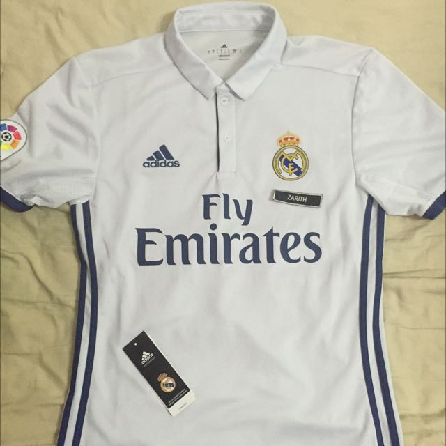 best service 74f48 91c4a Adidas Real Madrid Authentic Jersey