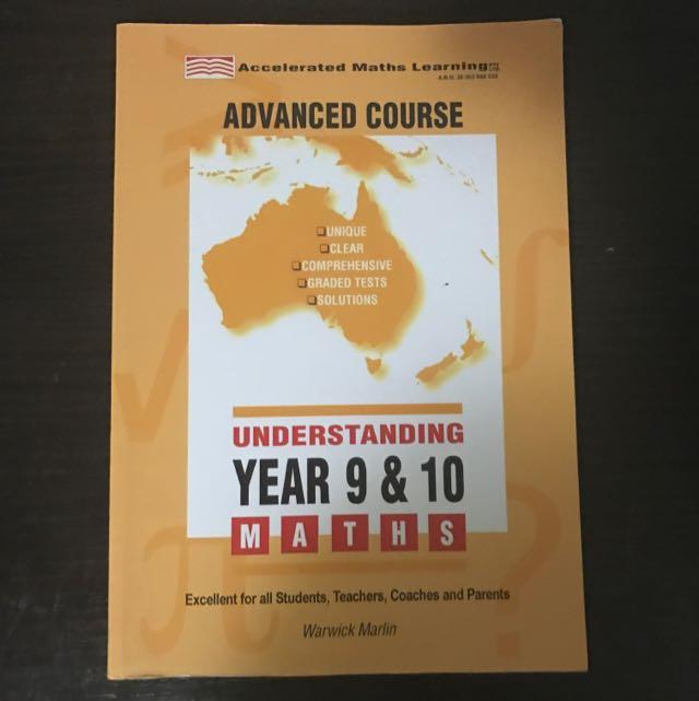 Advanced Course Understanding Year 9 & 10 Maths