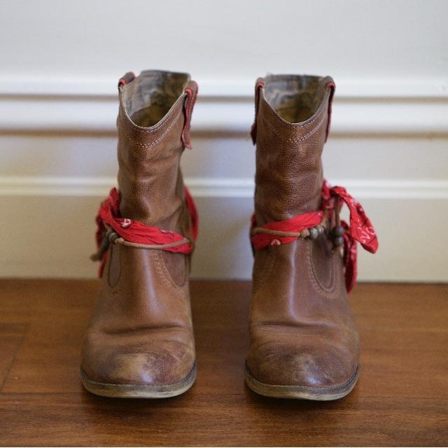 Aldo Cowboy-style boots