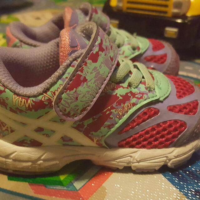 Asics Toddler Girl Running Shoes