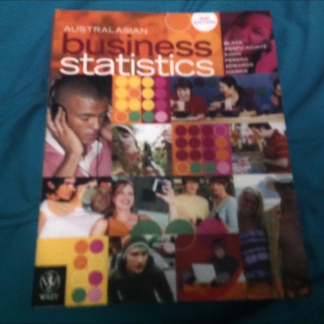 Australian Business Statistics Second Edition