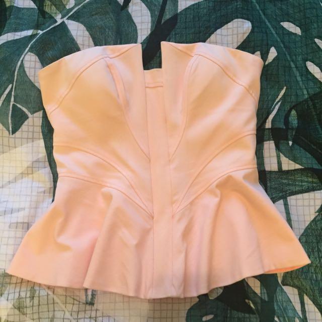 Bardot Size 8 Corset Pink