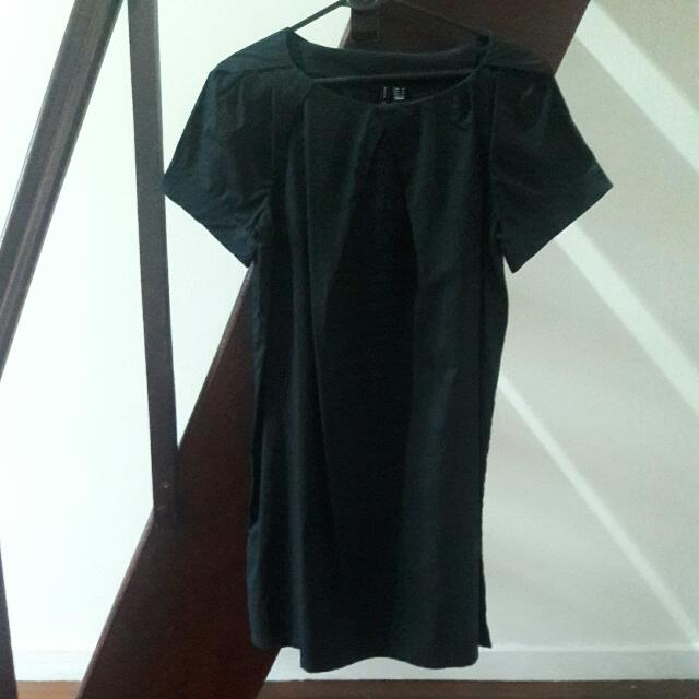 Basic Black Dress MANGO Size M