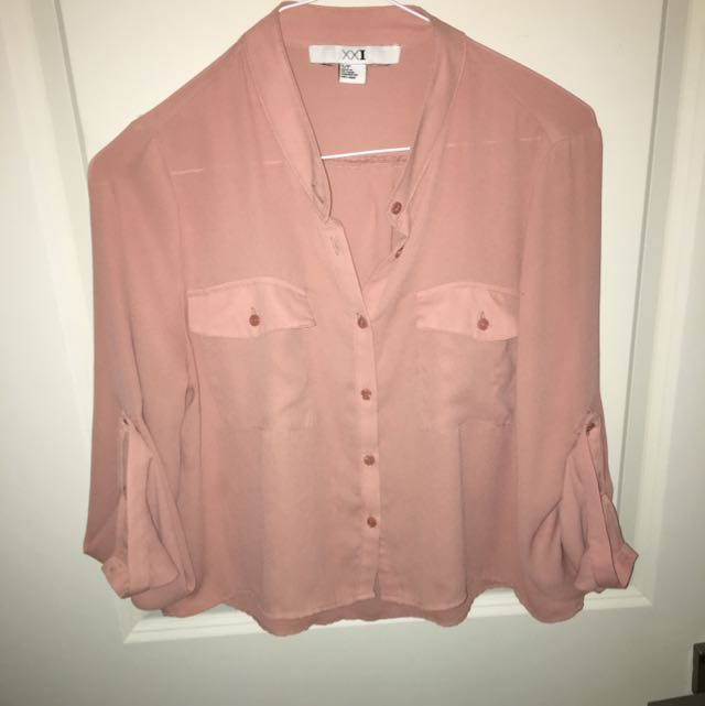 Beige Size Small Top