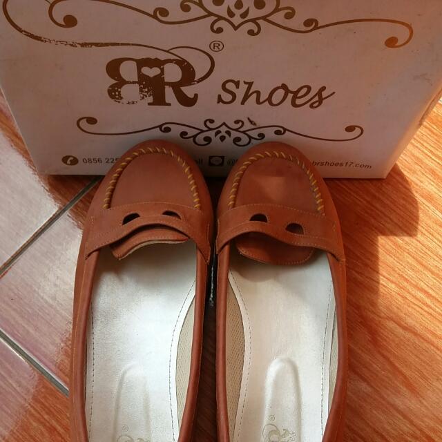 BRshoes5 Tan Size 40