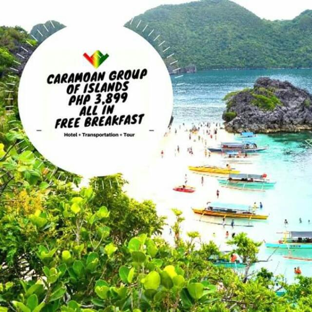 Caramoan Group of Island Tour